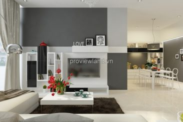 Apartment for rent in District 2 at The Vista District 2 at T5 tower 2 bedrooms