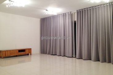 Apartment for rent in District 2 at The Estella 3 bedrooms basic furniture