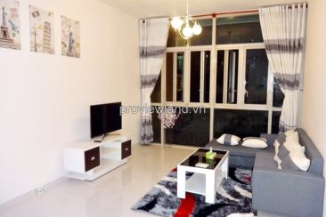 Apartment for rent in District 2 at The Vista 2 bedrooms on high floor