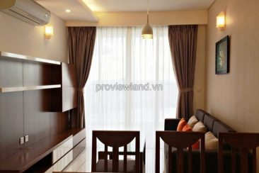 Apartment for rent in Thao Dien Pearl 2 brs on high floor