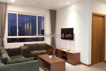 Tropic Garden 2 bedrooms for rent at C1 Tower