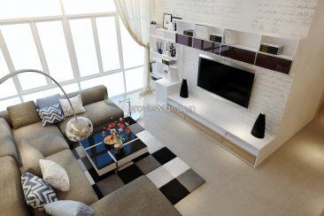 The Vista apartment for rent 3 bedrooms 140 sqm