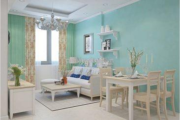 Masteri Thao Dien for rent 2 bedrooms 69 sqm vintage style