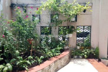 Fideco Villa for rent in District 2 350 sqm 2 floors no furniture