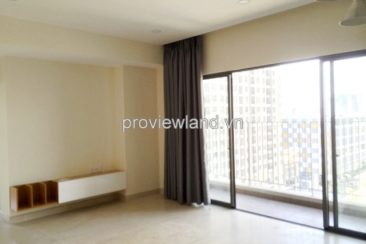Apartment Masteri for rent 2 basic furniture beds with park view