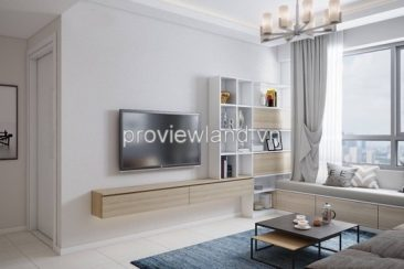 Masteri for rent fully furnished 50 sqm 1 bedrooms